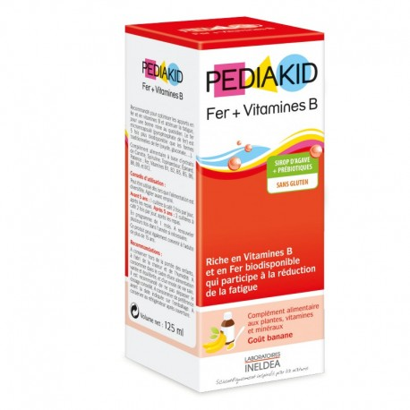 PEDIAKID® Hierro+Vitamina B