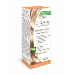 Crema Coloración EffiColor® 10-Rubio Platino