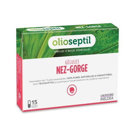 OLIOSEPTIL® Cápsulas nariz-garganta
