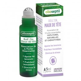 OLIOSEPTIL®  Roll' on Dolor de Cabeza