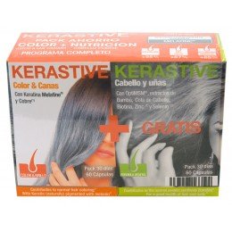 Pack Kerastive Color & Canas + Fórmula Vegetal