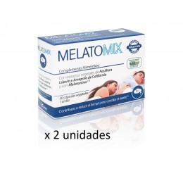Melatomix - Pack ahorro DUPLO ( 2 Estuches de 30 cápsulas)
