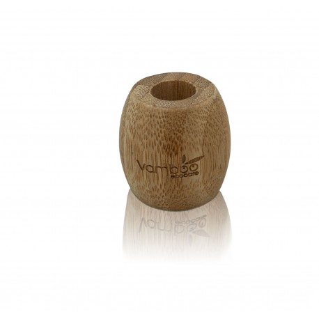 Base Porta Cepillos de Bambú