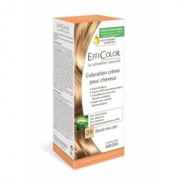 Crema Coloración EffiColor® 09-Rubio muy claro